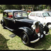 1951 Mercedes Benz 170 VA w136 manual
