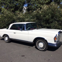 1969 Mercedes-Benz 280se coupe w111