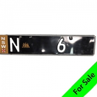 Number Plate N 6 For Sale