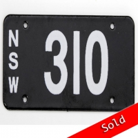 NSW Number Plate 310