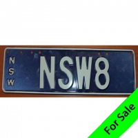 Number NSW8 For Sale