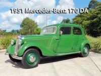 1951 Mercedes-Benz 170DA    Classic Cars Sold