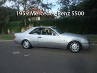 1959 Mercedes-Benz S500