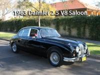 1963 Daimler 2.5 V8 Saloon