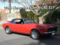1968 Chevrolet Camaro RS 327 | Classic Cars Sold