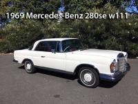 1969 Mercedes-Benz 280se w111