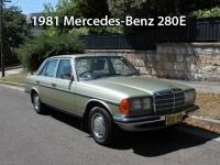 1981 Mercedes-Benz 280E  | Classic Cars Sold