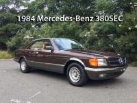 1984 Mercedes-Benz 380SEC