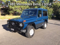 1985 Mercedes-Benz 230GE