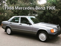 1988 Mercedes-Benz 190E