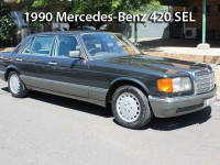 1990 Mercedes-Benz 420 SEL | Classic Cars Sold