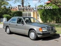 1992 Mercedes-Benz 300E    Classic Cars Sold