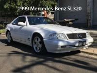 1999 Mercedes-Benz SL320
