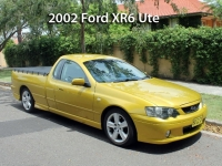 2002 Ford XR6 Ute  | Classic Cars Sold
