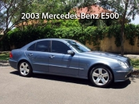 2003 Mercedes-Benz E500  | Classic Cars Sold