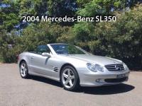 2004 Mercedes-Benz-SL350