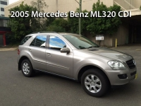 2005 Mercedes-Benz ML320 CDI