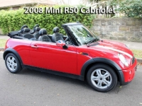 2008 Mini R50 Cabriolet  | Classic Cars Sold
