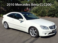 2010 Mercedes-Benz CLC200 Kompressor