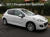 2011 Peugeot 207 Sportium    Classic Cars Sold