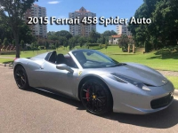 2015 Ferrari 458 Spider Auto