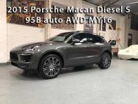 2015 Porsche Macan Diesel S-95B auto AWD MY16