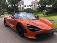2017 McLaren 720S Performance