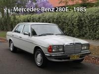 Mercedes-Benz 280E - 1985  | Classic Cars Sold