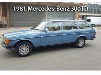 1981 Mercedes-Benz 300TD