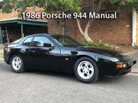 1986 Porsche 944 Manual CS