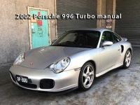 2002 Porsche 996 Turbo manual