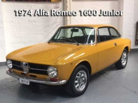 Alfa Romeo 1974 1600 Junior