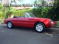 Alfa Romeo Spider 1750 - 1969