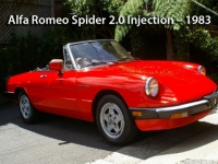 Alfa Romeo Spider 2.0 Injection - 1983