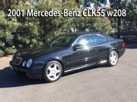 2001 Mercedes-Benz CLK55 w208