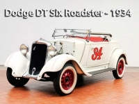 Dodge DT Six Roadster – 1934  | Classic Cars Sold