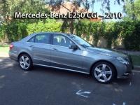 Mercedes-Benz E250 CGI - 2010