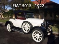 FIAT 501 - 1922