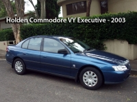 Holden Commodore VY Executive - 2003