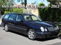 Mercedes-Benz E320 Wagen - 2002