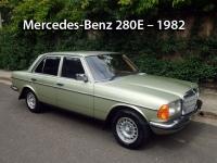Mercedes-Benz 280E - 1982