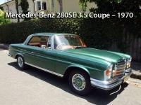 Mercedes-Benz 280SE 3.5 Coupe - 1970