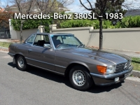 Mercedes-Benz 380SL - 1983