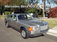 Mercedes-Benz 420 SEL - 1989