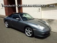 Porsche 911 CARRERA 996 MY02 CABRIOLET - 2002