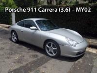 Porsche 911 Carrera (3.6) - MY02