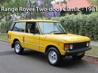 Range Rover Two Door Classic - 1981