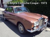 Rolls-Royce Corniche Coupe - 1973
