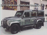 Landrover Defender Manual 4X4