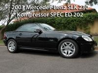 2003 Mercedes-Benz SLK 230 Kompressor Spec Ed 202  | Classic Cars Sold